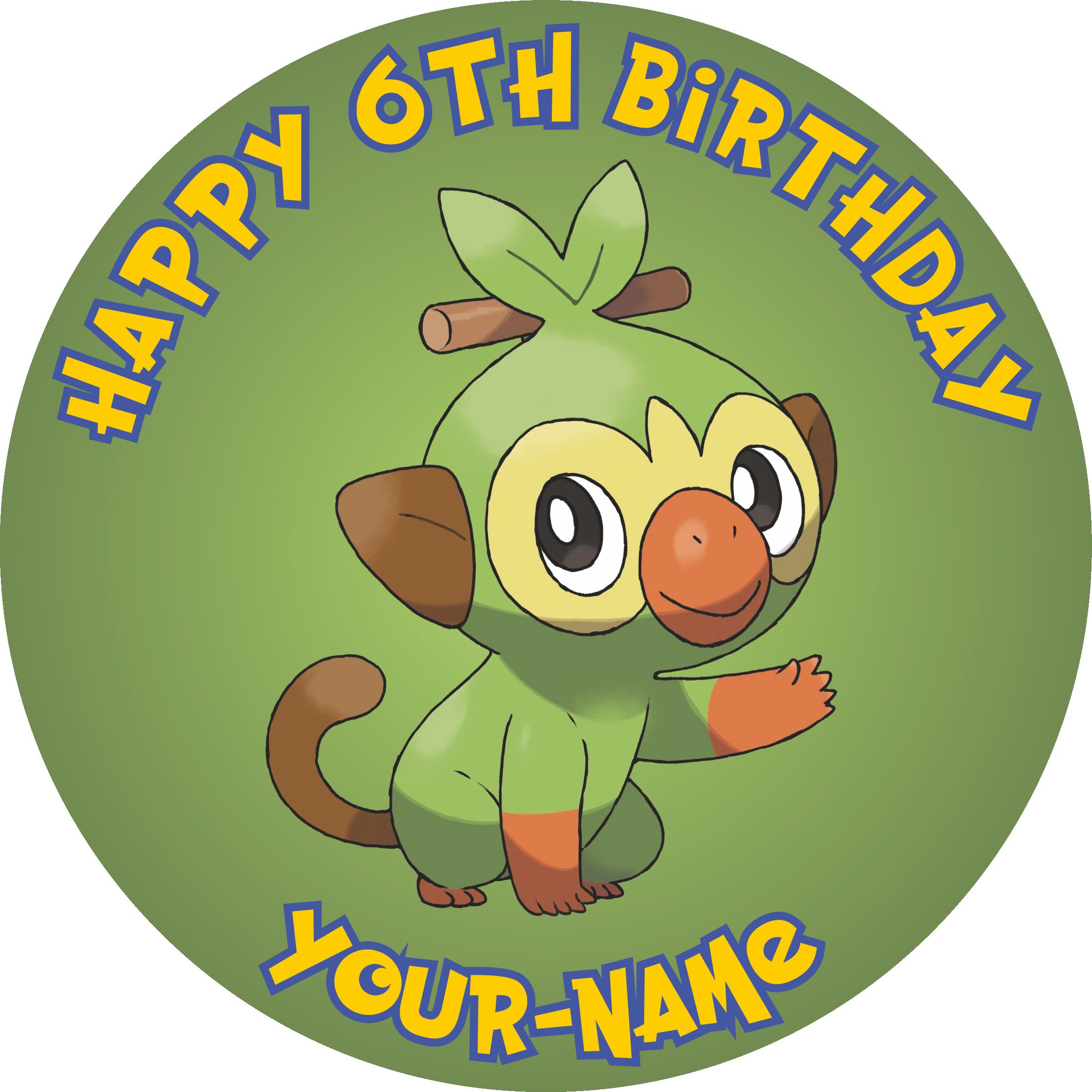 Pokemon Grookey Toptacular My first choice of a name for female grookey is plantainjane. pokemon grookey